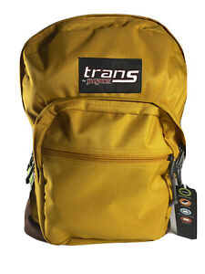 "New with Tag Jan Sport Unisex 17""  Backpack, Yellow Gold Mustard, 36L Padded"