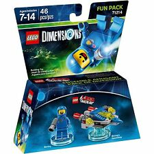 LEGO Dimensions 71214 Lego Movie Fun Pack Benny AUS stock Brand new (#1304)