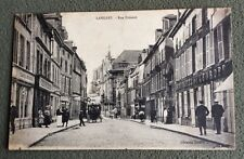 CPA. LANGRES. 52 - Rue Diderot. Hôtel de l'Europe?  Pâtissier.