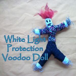 White Light Healing Protection Good Karma Voodoo Doll Spell Kit Hoodoo Blessings