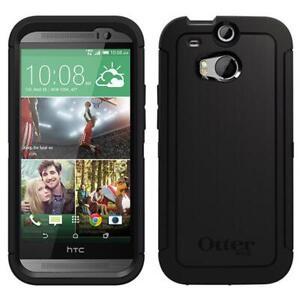 OTTERBOX Defender HTC ONE (M8) Rugged Case || Black || Drop Shock Proof