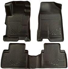 Black Husky Liners WeatherBeater Floor Mats Fits 2007-2012 Nissan Altima - 2 Row