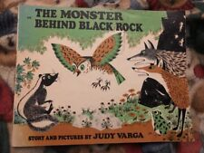 The Monster Behind Black Rock by Judy Varga softcover Book