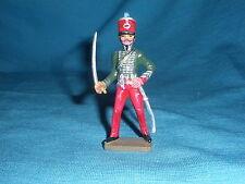 555A Starlux Atlas Lieutenant 2 Rgt Figurine Plomb Empire Soldat 1/32 Napoleon