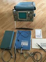 TEKTRONIX 465 100MHz Two Channel Oscilloscope & Probes, Manual, Cover Power Cord