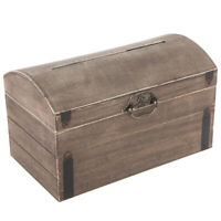 Wooden Wedding Card Box Gift Keepsake Home Decor Table Decoration