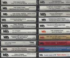 20  New WRS Polish Style Polka Cassettes    MAXI-PACK  # 3   OVER $150.00 VALUE