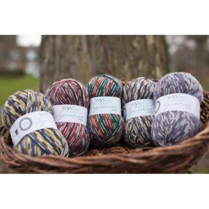 West Yorkshire Spinners, WYS, Signature 4ply yarn, Sock Yarn.