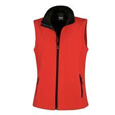 Ladies Womens Softshell Bodywarmer Sleeveless Jacket Gilet Body Warmer Fleece