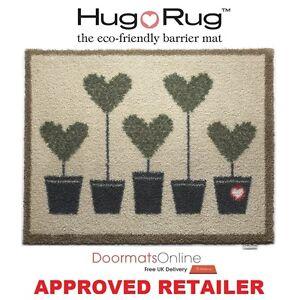 Hug Rug 85x65cm (TOPIARY 10) Dirt Trapper Door / Floor Mat Machine Washable