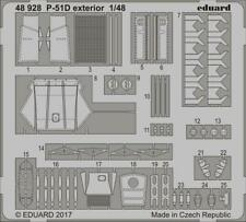 Eduard 1/48 photoetch exterior detail for P-51D kit by Meng - 48928