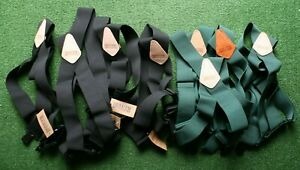 """DULUTH TRADING CO. Regular Side Clip 2"""" Suspenders w/Leather Tag"""