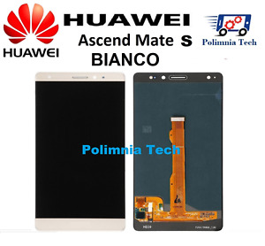 DISPLAY HUAWEI MATE S BIANCO  - DISPLAY LCD + TOUCH  COMPLETO  CRR-L09 CRR-UL00.