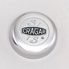 Cragar CRG09090 Center Cap Aluminium Chrome Bolt-on Flat Style Each