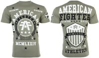 AMERICAN FIGHTER Mens T-Shirt DALTON Athletic MILITARY GREEN Biker Gym $40 NWT
