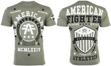 American Fighter Mens S/S T-Shirt DALTON Athletic MILITARY GREEN Biker S-3XL $40