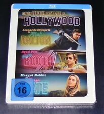 Once Upon A Time IN Hollywood blu ray Limitada steelbook Edition Nuevo &