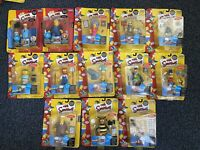 The Simpsons Lot Of 13 Playmates Figures Itchy & Scratchy Bartman Series 1 4 5