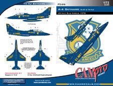 Cam Pro 1/72 Douglas A-4/Ta-4 Skyhawk Us Navy Bleu Anges 1978 Vol Demonstrat