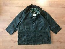 Barbour Men's Gamefair Green Waxed Coat Jacket C44/112CM Fishing Hunting Vintage