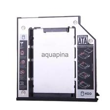 9.5mm SATA To SATA 2nd SSD HDD Hard Drive Caddy for Dell E6400 E6500 M2400