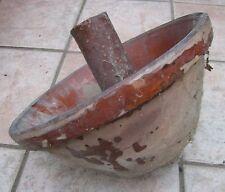 rare poterie provençale ancienne de magnanerie (elevage vers à soie)