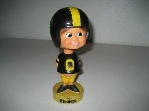 Vintage 1975 NFL Pittsburgh Steelers Nodder Bobblehead Taiwan rare