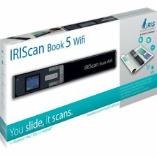 IRIScan Book 5 Wifi Cordless Portable Full Page Scanner for books and magazines