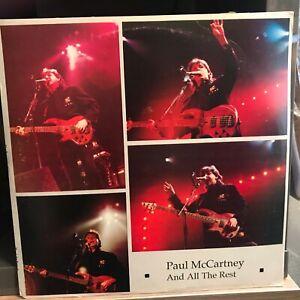 Paul McCartney All The Rest 2 LP Private Press ULTRASONIC