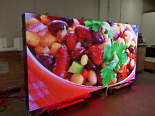 2 SIDED OUTDOOR 5x10 FULL COLOR LED SIGN RGB PROGRAMMABLE SIGN, 10mm P10 DIP