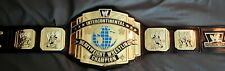WWE Intercontinental Replica Belt ADULT SIZE, on real leather by Romeo Anderson.