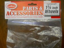 """Guillows #115 1-3/4"""" Wheels, 4 Wheels, (8-Halves) (New In Package)"""
