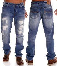 Lange Markenlose Herren-Jeans