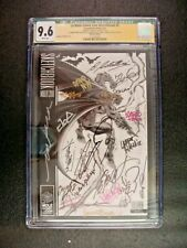 La Mole Comic Con Sketchbook #2 Graded CGC 9.6 35x Signed Frank Miller Batman DC
