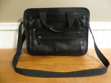Perry Ellis Portfolio Genuine Leather Laptop/Messenger Bag
