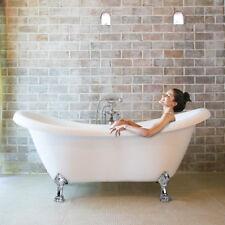 HOME DELUXE Exclusive freistehende Badewanne Acrylwanne Wanne Bad 176x74 Ablauf