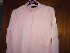 FRENCH CONNECTION Ladies Pink Casual Sports Zip Up Fashion Jacket - Size Large