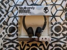 Skullcandy S5URHT-456 BLACK Uproar On-Ear Headphones with Taptech / Brand New