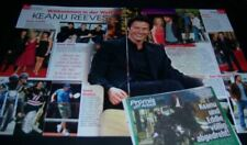 Keanu Reeves 26 pc German Clippings Full Pages