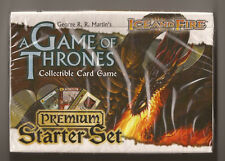 Game of Thrones Ice and Fire Premium Starter Set Deck New Sealed cards ccg
