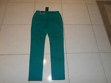 WOMEN'S SIZE 6 BACCINI JEANS PANTS AQUA/TEAL COLOR NEW SKINNY LEG