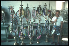 260089 Water Pipes In A Tea House Saudi Arabia Jeddah A4 Photo Print