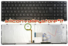 Tastiera Ita Retroilluminata Nero Sony Vaio SVE1512W1R, SVE1512W1RB, SVE1512X1