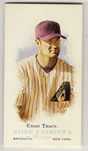 CHAD TRACY 2006 Topps Allen & Ginter's MINI A&G Back #22 Diamondbacks A and G