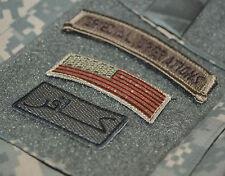 KILLER ELITE RANGERS WAR TROPHY TAB: INFIDEL كافر + US Flag + SPECIAL OPERATIONS