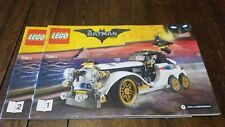 The LEGO Batman Movie - Penguin Artic Roller (70911) - Manuals Only