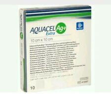 Aquacel AG+ Extra Silver Hydrofiber . Dressing 10cm x 10cm x10