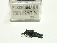 Fleischmann HO 50x Profikupplung schwarz 38 6515 NEU OVP