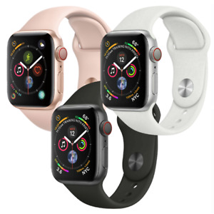 Apple Watch Series 4 40mm GPS Cellular 4G LTE Aluminum - Gold Silver Space Gray
