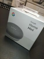 Google Home Mini Smart Assistant Speaker - Chalk/White   New & Unopened